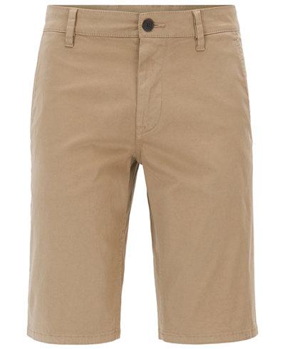 BOSS Men's Slim-Fit Stretch Chino Shorts