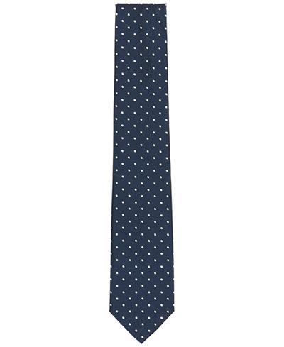 BOSS Men's Polka Dot Tie