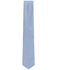 BOSS Men's Traveller Gingham Silk Tie