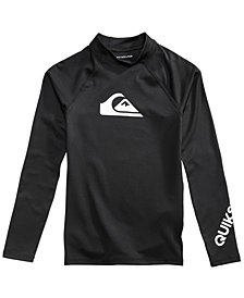 Quiksilver Graphic-Print Rash Guard, Big Boys (8-20)