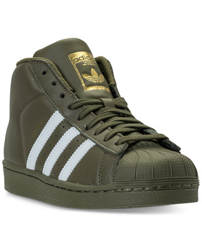 adidas Big Boys' Pro Model Casual Sneakers from Finish Line