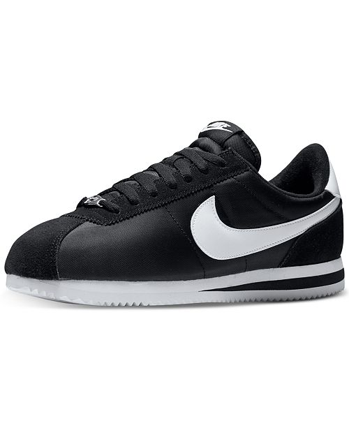 a1456184601 Nike. Men s Cortez Basic Nylon Casual Sneakers from Finish Line. 20  reviews. main image  main image ...