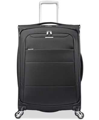 """CLOSEOUT! ECO-Spin 25"""" Expandable Softside Spinner Suitcase, Created for Macy's"""
