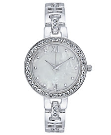 Charter Club Women's Mother-of-Pearl Bracelet Watch 30mm, Created for Macy's