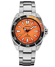 Seiko Men's Automatic Prospex Diver Stainless Steel Bracelet Watch 44mm