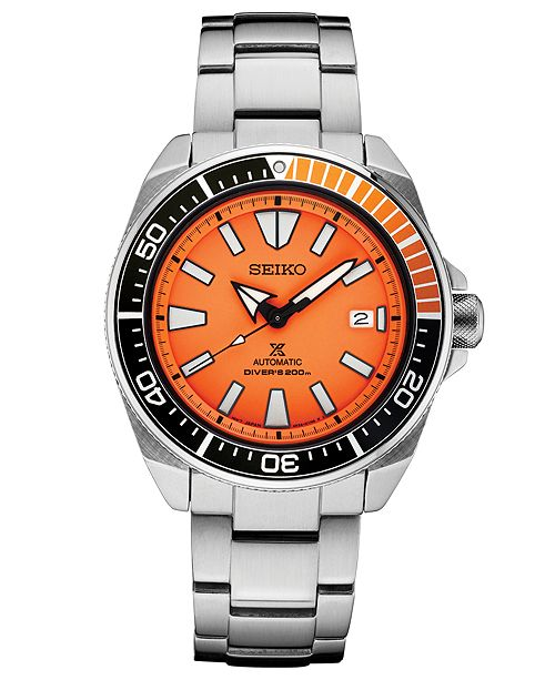 fb2c170d1 ... Seiko Men's Automatic Prospex Diver Stainless Steel Bracelet Watch ...