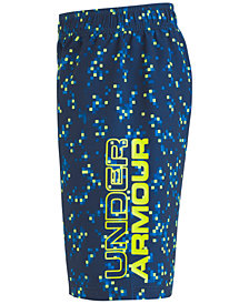 Under Armour Printed Digi Cam Volley Swim Trunks, Big Boys