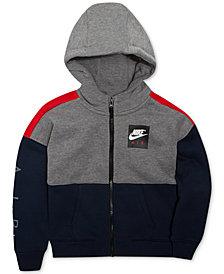 Nike Air Full-Zip Hoodie, Little Boys