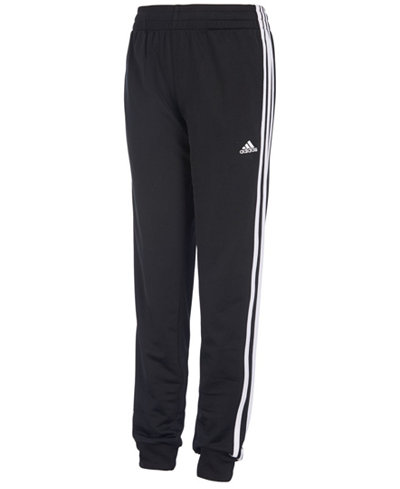 adidas Iconic Tricot Jogger Pants, Little Boys