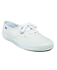 Women's Champion Leather Oxford Sneakers