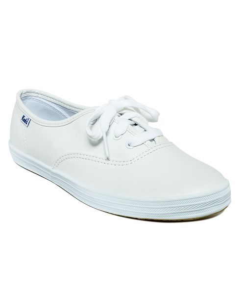 808c7bd0d52e Keds Women s Champion Leather Oxford Sneakers   Reviews - Athletic ...