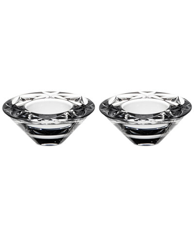 CLOSEOUT! Waterford Crystal Votives, Set of 2