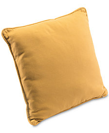 "Zuo Canvas 17.5"" Square Decorative Throw Pillow"
