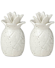 kate spade new york Cannon Street Botanical Accents Pineapple Salt & Pepper Set