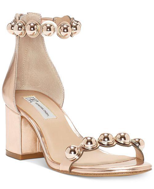 deabcd82ea6f ... INC International Concepts I.N.C. Women s Haili Two-Piece Dress Sandals