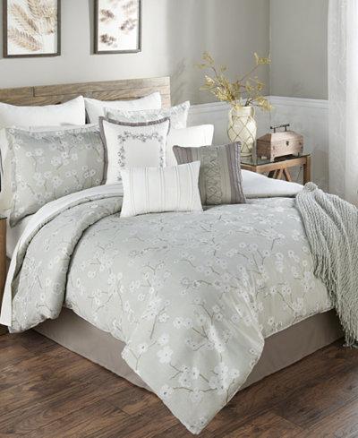 Ayako Sage 14-Pc. King Comforter Set