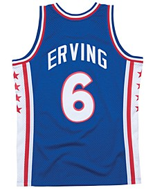 Men's Julius Erving Philadelphia 76ers Hardwood Classic Swingman Jersey