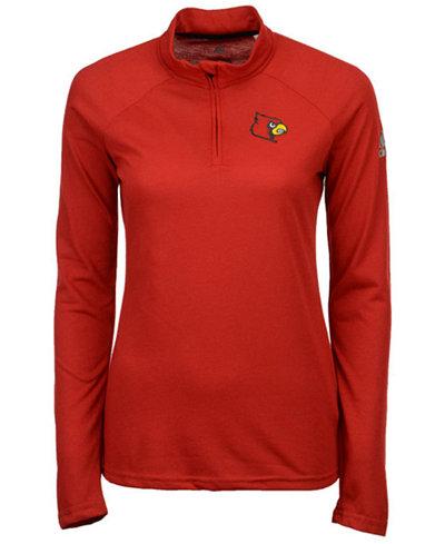 adidas Women's Louisville Cardinals Ultimate Quarter-Zip