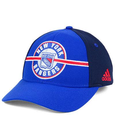 adidas New York Rangers Circle Adjustable Cap