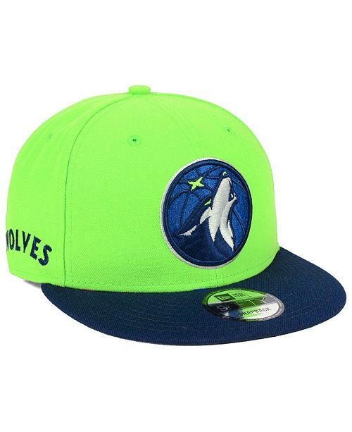 59498bbedaa7 ... New Era Minnesota Timberwolves Basic Link 9FIFTY Snapback Cap ...