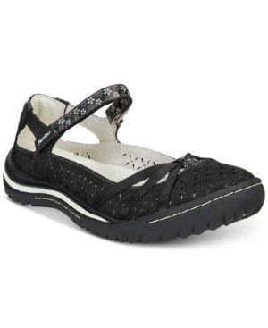 Jambu Cherry Blossom Mary Jane Flats Women's Shoes 5507477