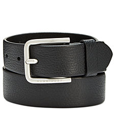 Hugo Boss Men's Grainy Leather Casual Belt