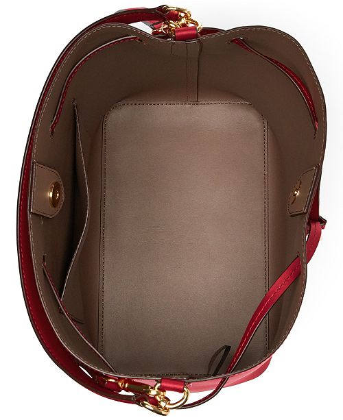 Lauren Ralph Lauren Dryden Debby Leather Drawstring   Reviews ... f0c0ad7263bd5