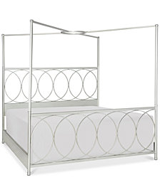 Rachael Ray Cinema Convertible Queen Canopy Bed