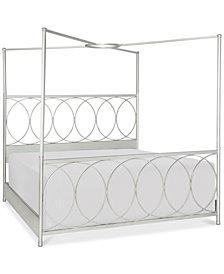 Rachael Ray Cinema Convertible King Canopy Bed