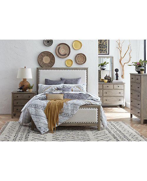 furniture parker upholstered bedroom furniture collection