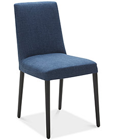 Gatlin Upholstered Dining Chair (Blue), Created for Macy's