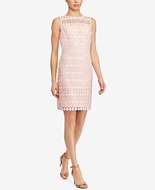 Lauren Ralph Lauren Petite Lace Sleeveless Dress
