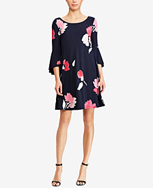 Lauren Ralph Lauren Floral-Print A-Line Dress, Regular & Petite Sizes