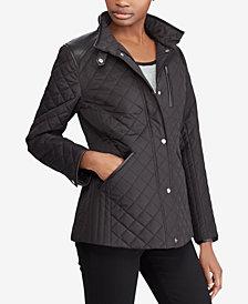Lauren Ralph Lauren Petite Diamond-Quilted Jacket