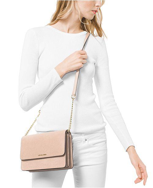 f80bb49da0c1 Michael Kors Daniela Saffiano Leather Crossbody & Reviews - Handbags ...