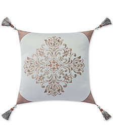 "Waterford Gwyneth 18"" Square Decorative Pillow"