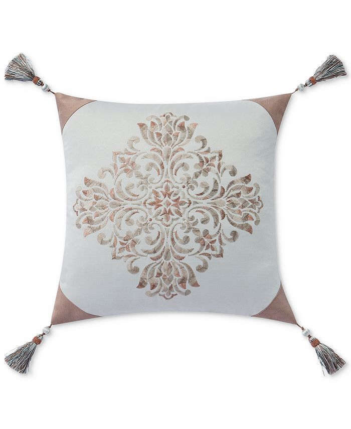 """Waterford - Gwyneth 18"""" Square Decorative Pillow"""