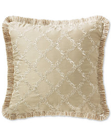 "Waterford Annalise  18"" Square Decorative Pillow"