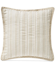 "Waterford Lancaster 14"" Square Decorative Pillow"