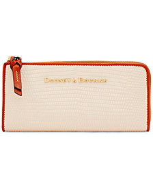 Dooney & Bourke Continental Zip Clutch Wallet