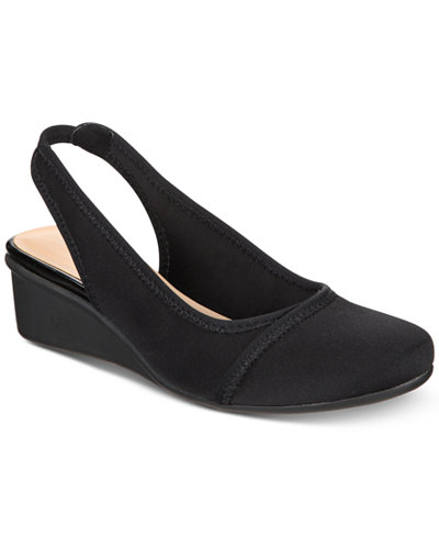 Charter Club Nora Slingback Wedges, Created for Macy's