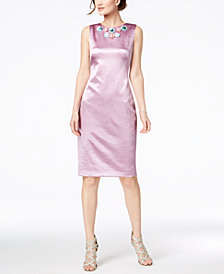 JAX Appliqué Sheath Dress