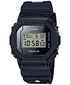 G-Shock Men's Digital Pigalle Black Resin Strap Watch 42.8x42.8mm - Limited Edition