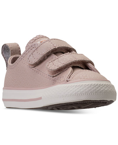 Converse Toddler Girls' Chuck Taylor All Star Ox Leather Casual Sneakers from Finish Line
