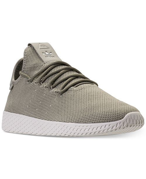 c598885a66083 ... adidas Men s Originals Pharrell Williams Tennis HU Casual Sneakers from  Finish ...