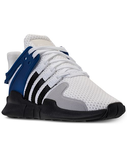 info for 80265 5ab14 adidas Big Boys' EQT Support ADV Casual Athletic Sneakers ...