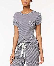Lauren Ralph Lauren French Riviera Striped Pajama Top