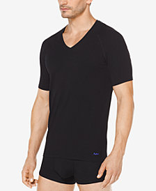 Michael Kors Men's 2-Pk. Stretch Factor V-Neck Undershirts