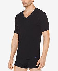 Michael Kors Men's 2-Pk. Stretch Factor V-Neck Undershirts