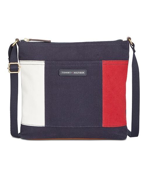 7bed044e9fd Tommy Hilfiger Flag Crossbody & Reviews - Handbags & Accessories ...